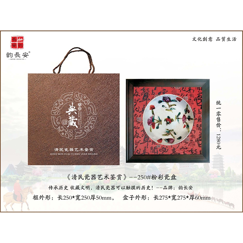 《清民瓷器艺术鉴赏》——粉彩瓷盘